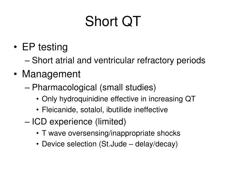 Short QT
