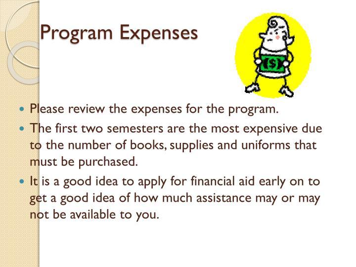 Program Expenses