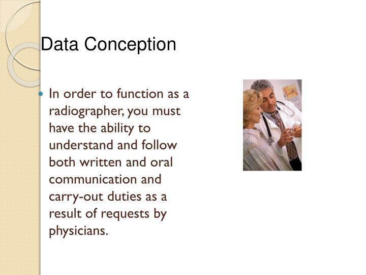 Data Conception