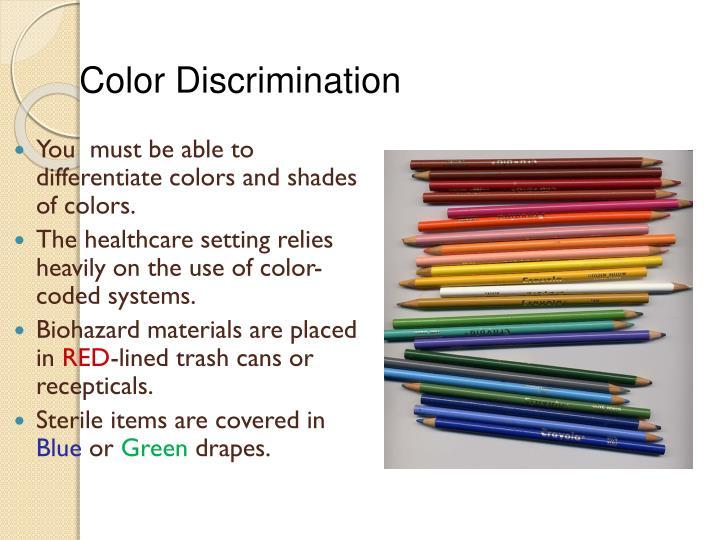 Color Discrimination