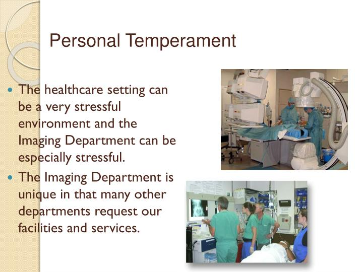 Personal Temperament