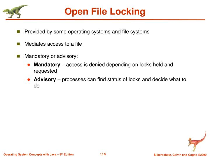 Open File Locking