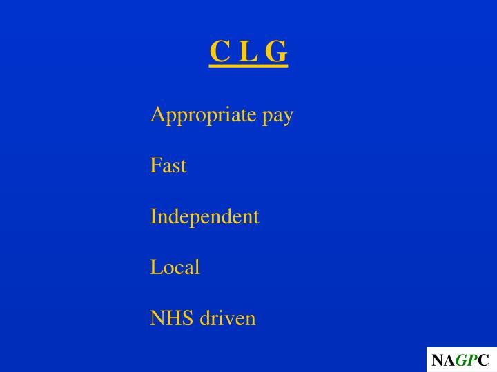 C L G