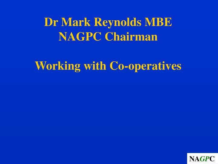 Dr Mark Reynolds MBE