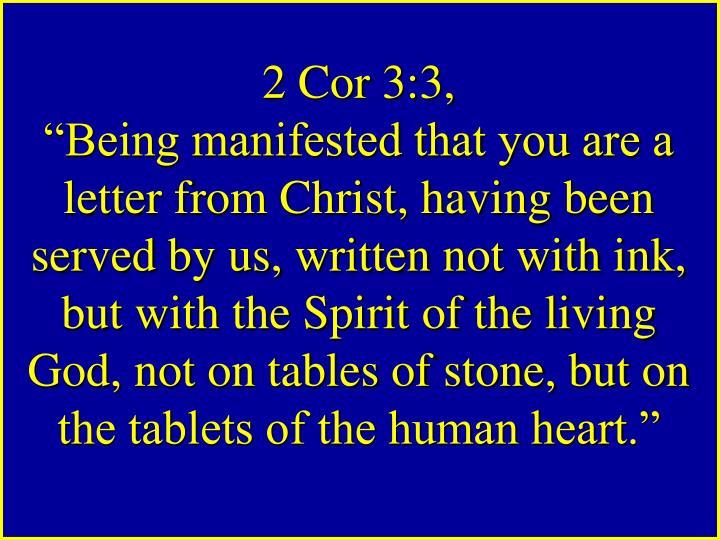 2 Cor 3:3,