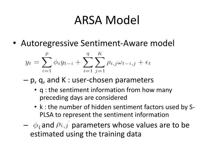 ARSA Model