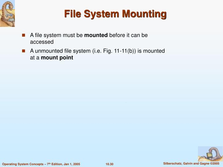 File System Mounting