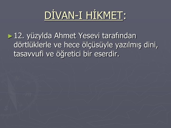 DVAN-I HKMET