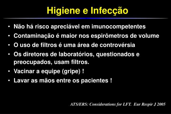 ATS/ERS: Considerations for LFT.  Eur Respir J 2005