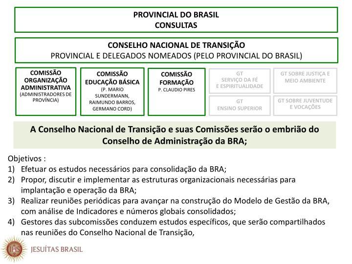 PROVINCIAL DO BRASIL