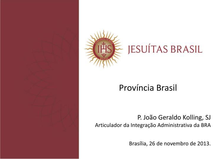 Província Brasil