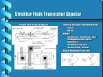 struktur fisik transistor bipolar