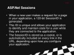 asp net sessions