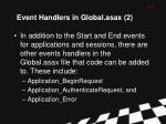 event handlers in global asax 2