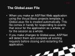 the global asax file
