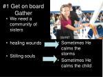 1 get on board gather