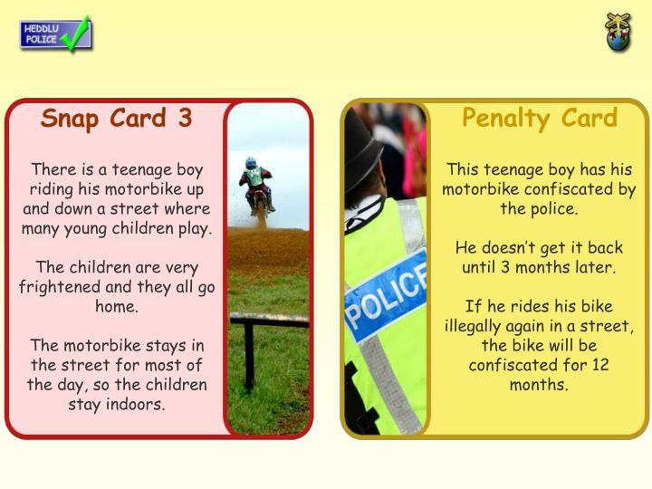 Snap Card 3