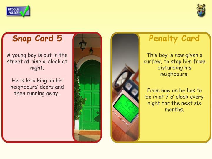 Snap Card 5