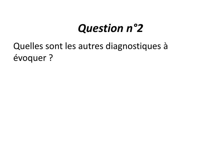 Question n°