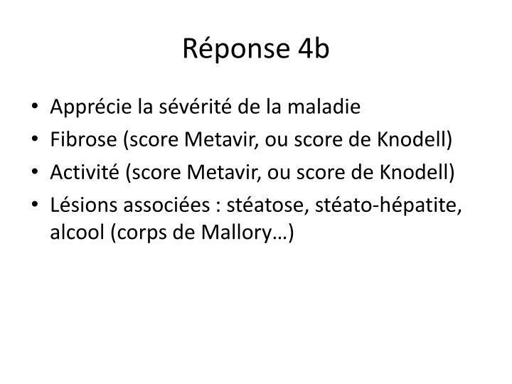 Réponse 4b
