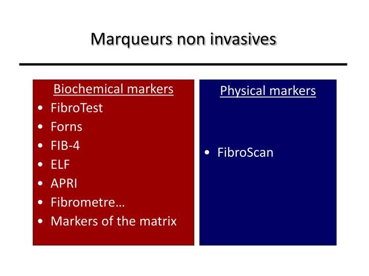 Marqueurs non invasives