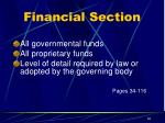 financial section1
