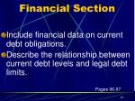 financial section11