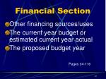 financial section6