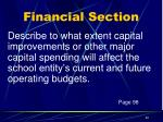 financial section9