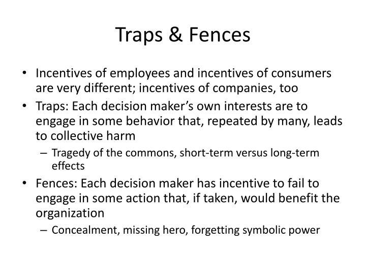 Traps & Fences
