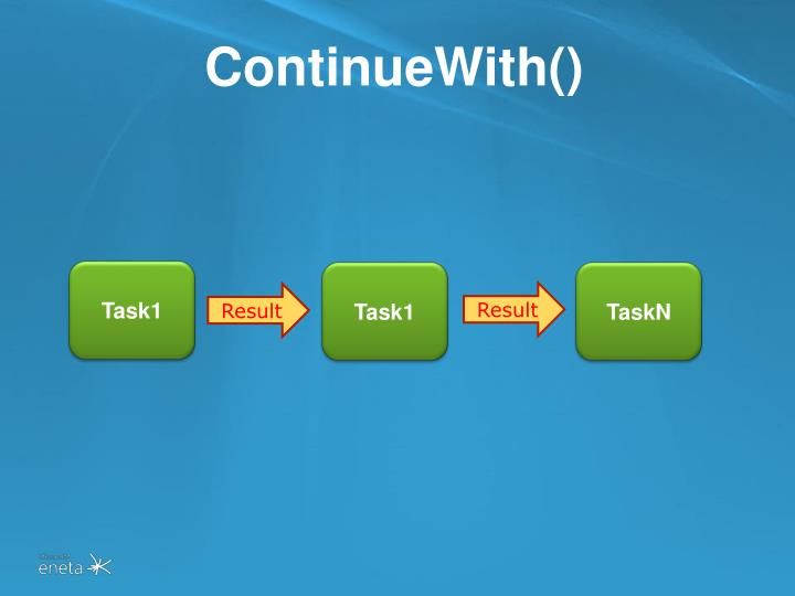 ContinueWith()