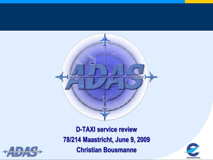 D-TAXI service review