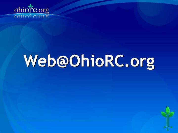 Web@OhioRC.org