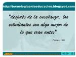 http tecnologiaenlaeducacion blogspot com