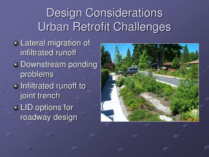 Design Considerations