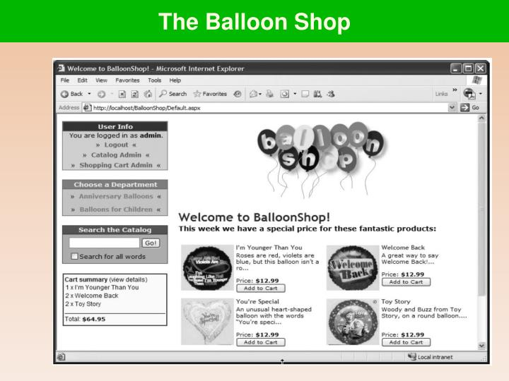 The Balloon Shop