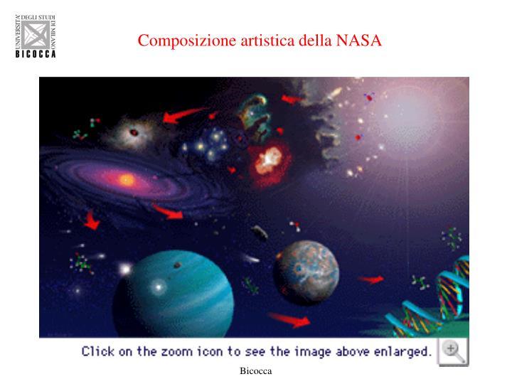 Composizione artistica della NASA