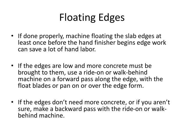 Floating Edges