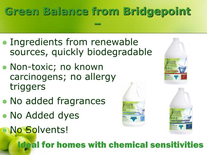 Green Balance from Bridgepoint –