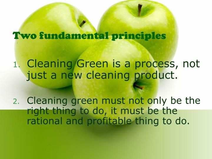 Two fundamental principles