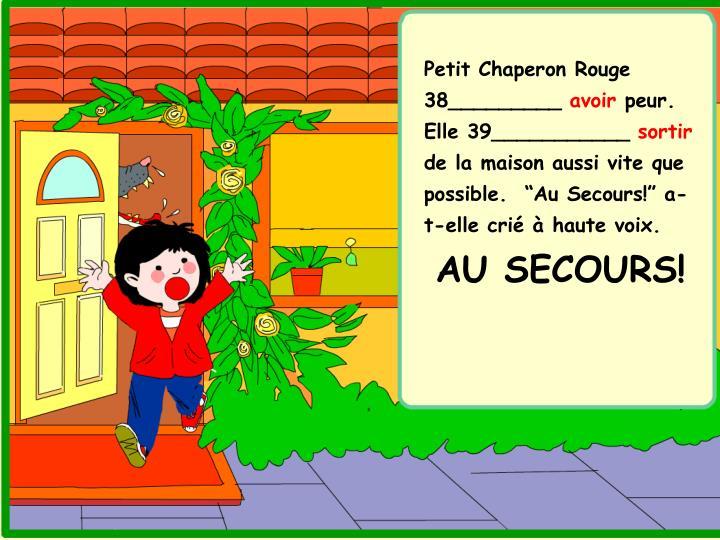 Petit Chaperon Rouge 38_________