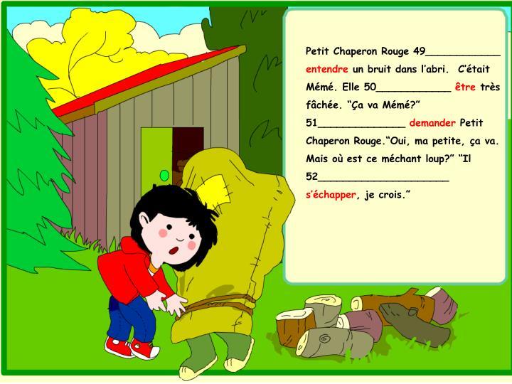 Petit Chaperon Rouge 49____________