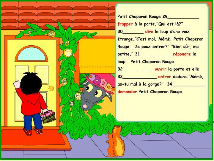 Petit Chaperon Rouge 29____________