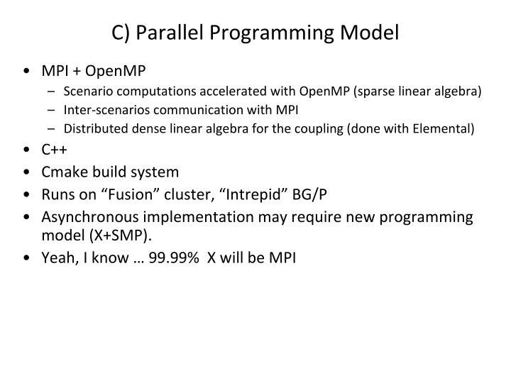 C) Parallel Programming Model