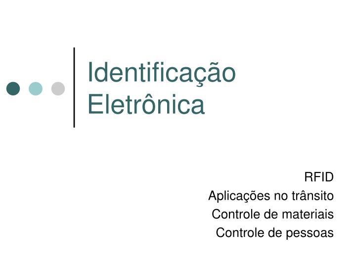 Identificação Eletrônica