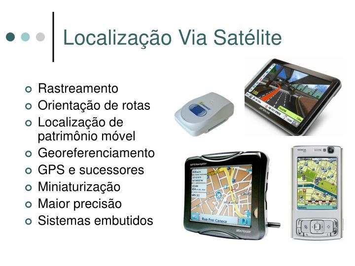Localização Via Satélite