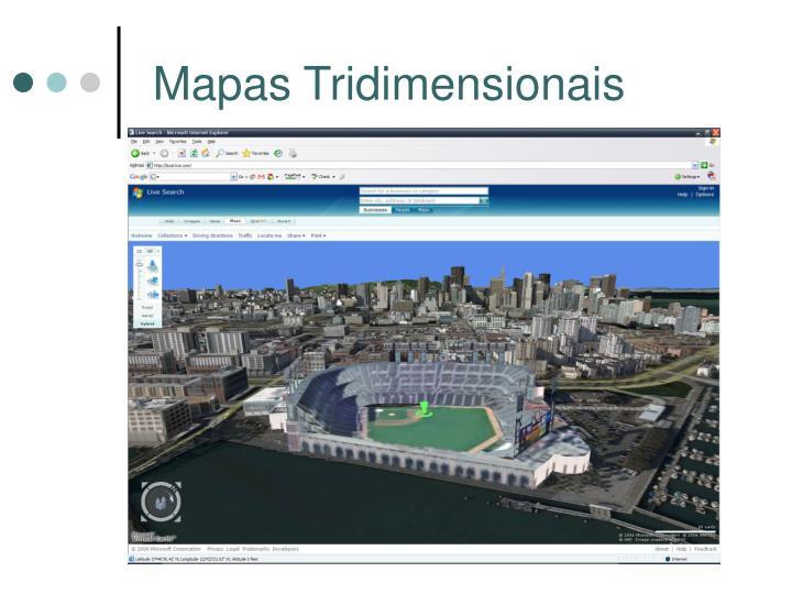Mapas Tridimensionais