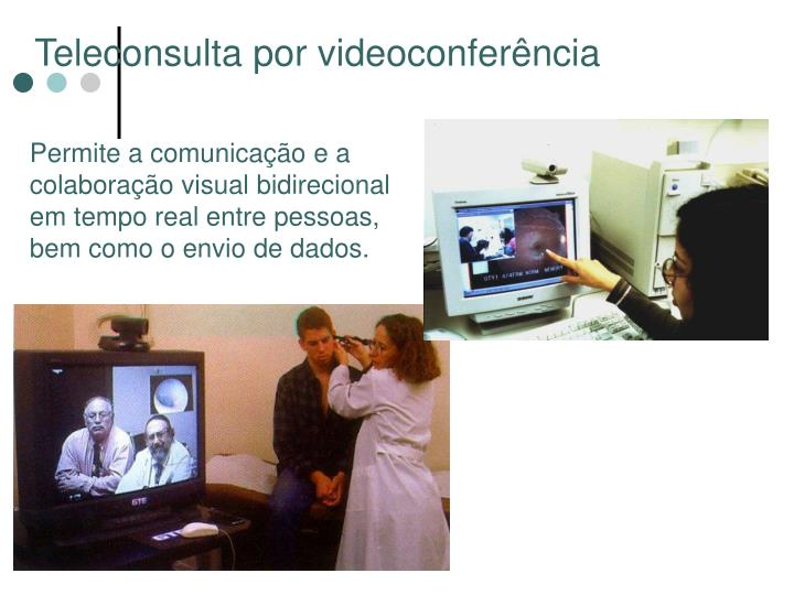 Teleconsulta por videoconferência