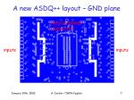 a new asdq layout gnd plane
