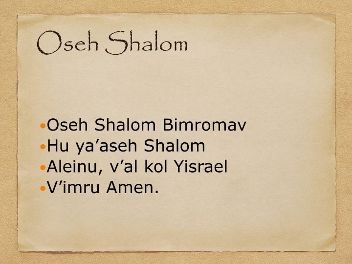 Oseh Shalom